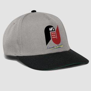 Snap-Back-Cap mit Reisemobilunion Logo